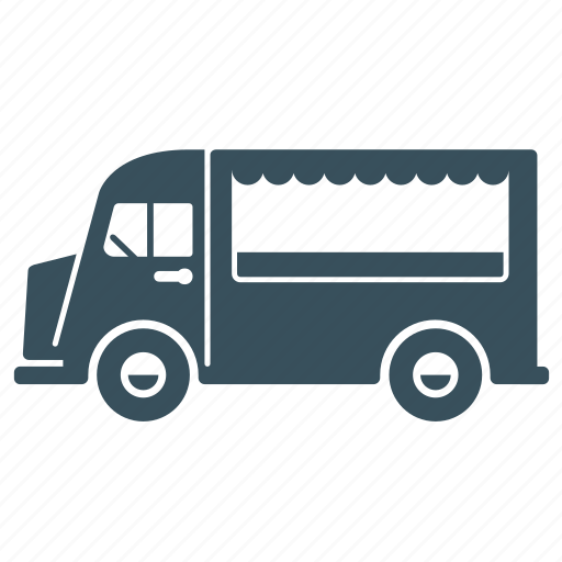 delivery, transport, truck, van, vehicle icon