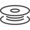 coil, vape icon
