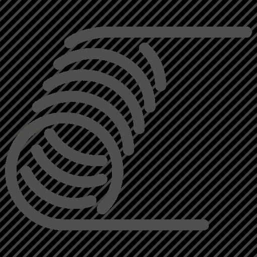 atomizer, coil icon