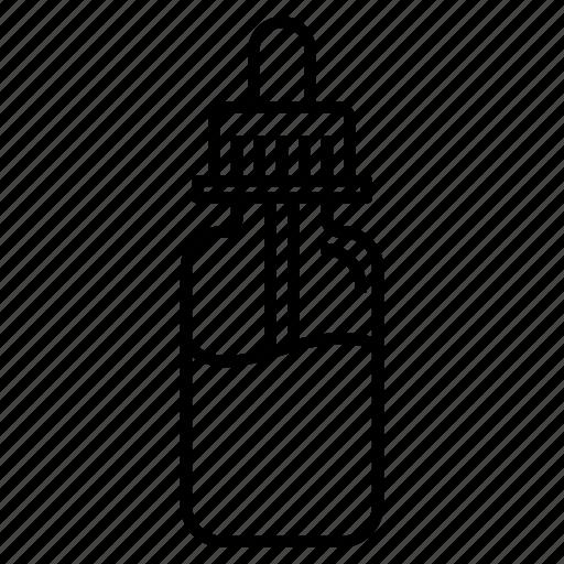 dropper, e-juice, e-liquid, juice, pipette, vape, vaping icon