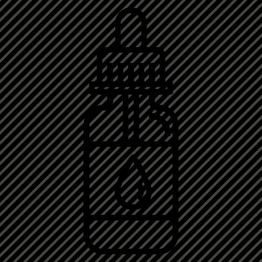 dropper, e-juice, e-liquid, pipette, vape, vaping icon