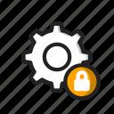 lock, secure, setting icon