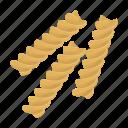 cooking, figured, flour, food, macaroni, pasta, product icon