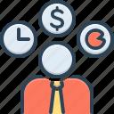 business, dealmaker, entrepreneur, hustler, occupational, professed, professional