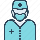 doctor, healer, physician, sawbones, specialist, surgeon, therapist