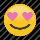 emoticon, happy, heart, love, smile