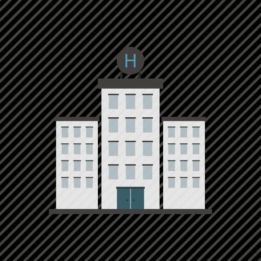 building, design, doctor, hospital, medicine, nurse icon