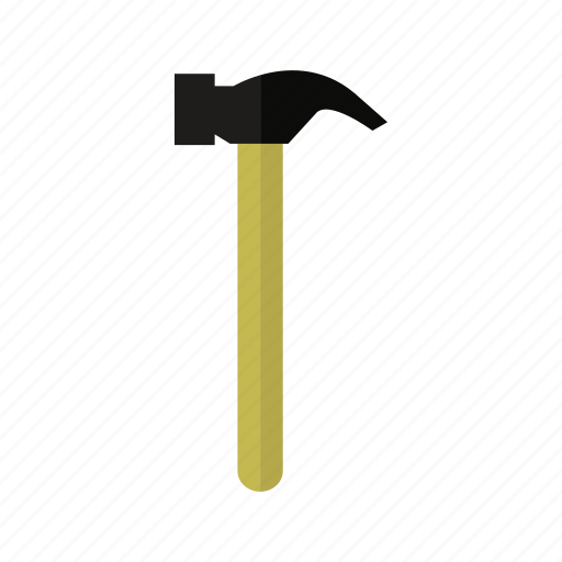 costruction, design, factory, hammer, industry, tool icon