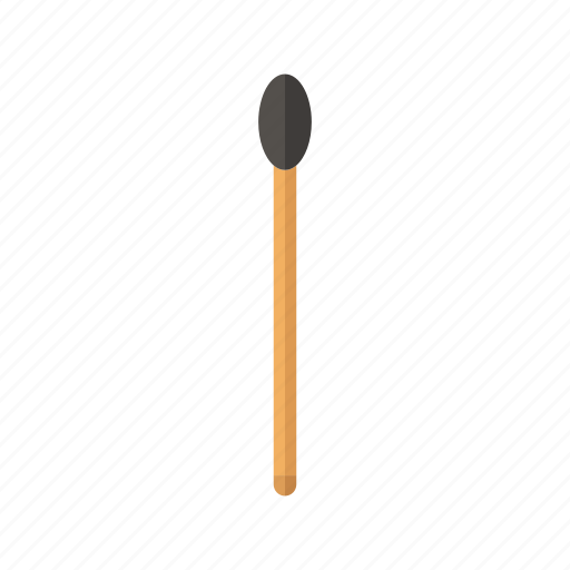 design, fire, hot, match, wood icon