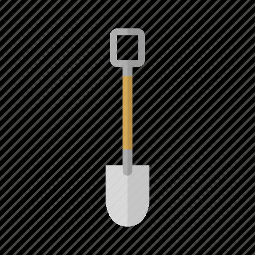 costruction, design, shovel, tool, work icon
