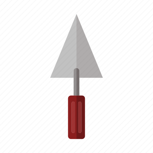 costruction, design, industry, tool, trowel, work icon