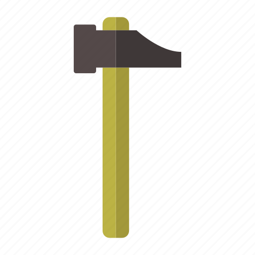 costruction, design, hammer, metal, tool icon