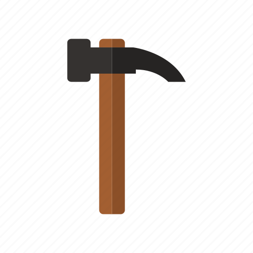 design, hammer, metal, tool, work icon