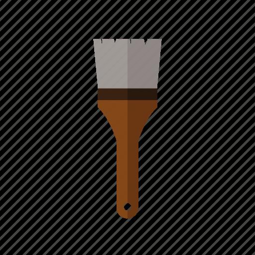 brush, color, design, tool, work icon