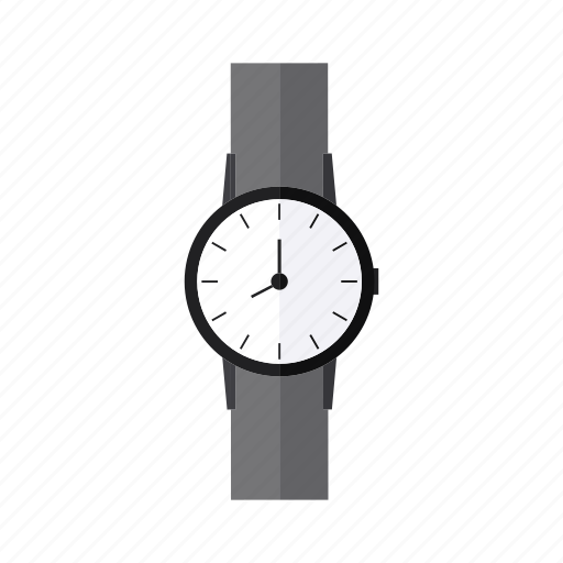 design, hand, time, wristwatch icon
