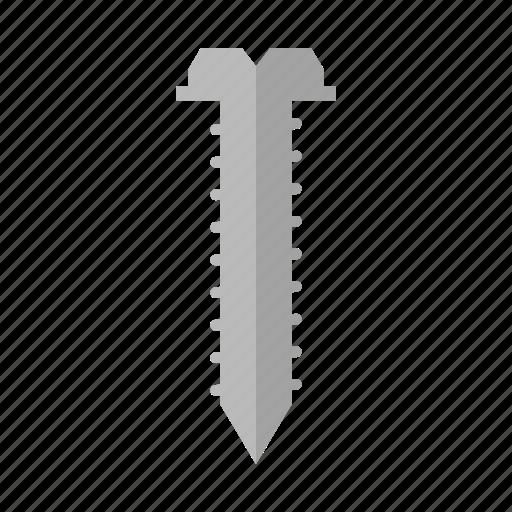 costruction, design, screw, tool, work icon