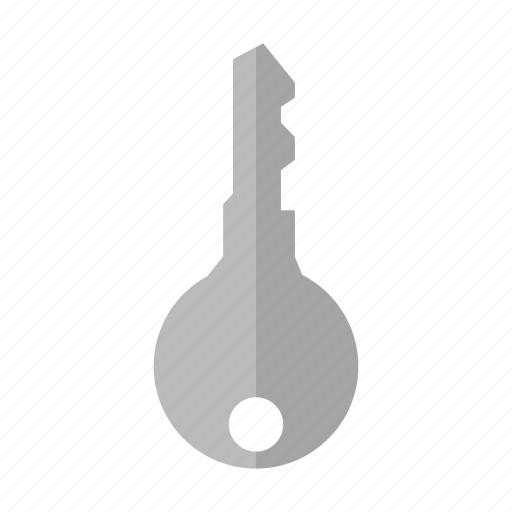 design, door, home, key, metal icon