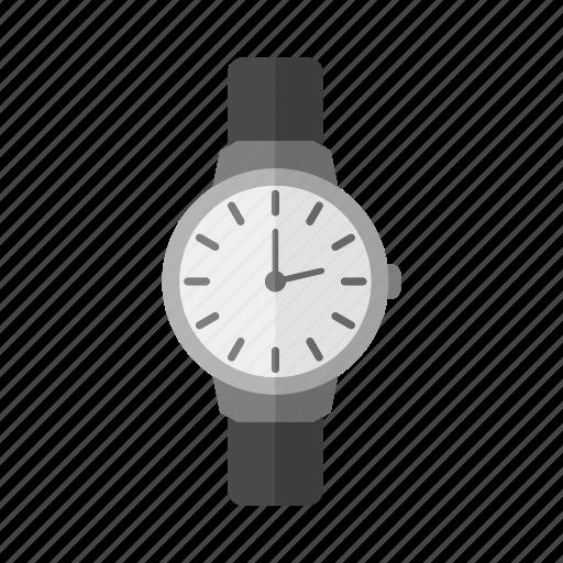 Design, time, wristwatch, clock, hand icon