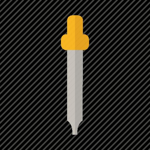 design, laboratory, liquid, pipette, science icon