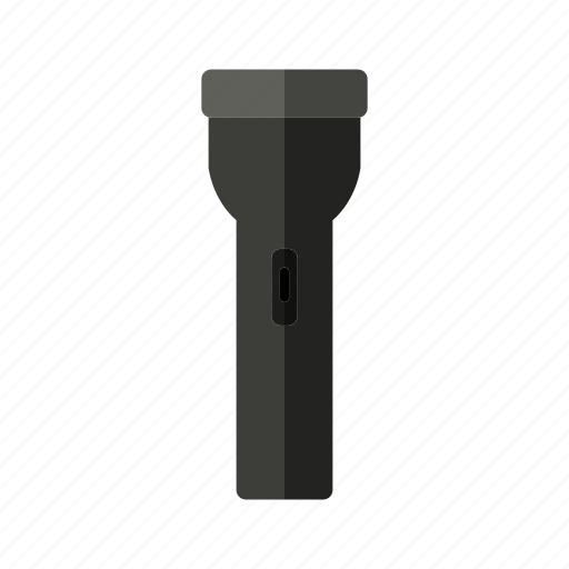 design, light, metal, plastic, torch icon