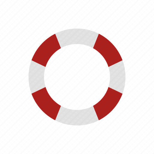 design, lifebelt, sea, secure, security, work icon