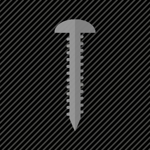 costruction, design, industry, screw, tool icon