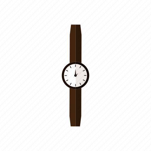 clock, design, hand, time, wristwatch icon