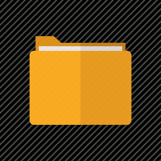 computer, deisgn, file, folder, office icon