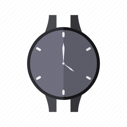 clock, design, hand, time, wristwatch icon