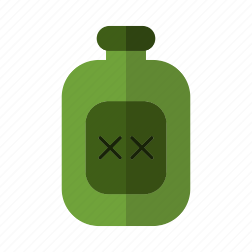 bottle, design, laboratory, liquid, poison icon
