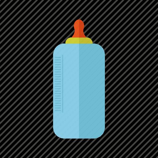 baby, baby bottle, bottle, children, design, milk icon