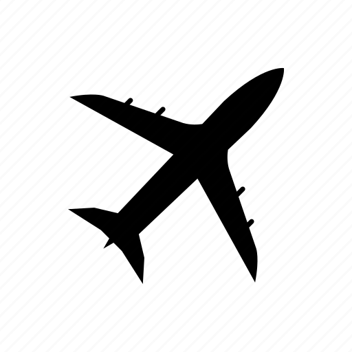 airplane, delivery, transportation, travel, vehicle icon