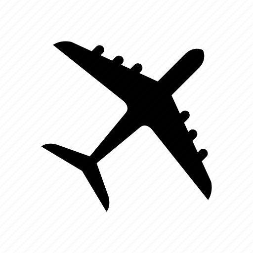 airplane, car, delivery, transport, transportation icon