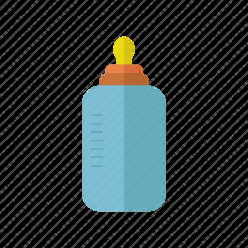 baby, baby bottle, children, design, liquid, milk icon