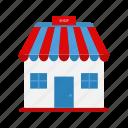 building, buy, design, shop, shopping icon