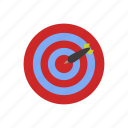 arrow, business, design, target icon