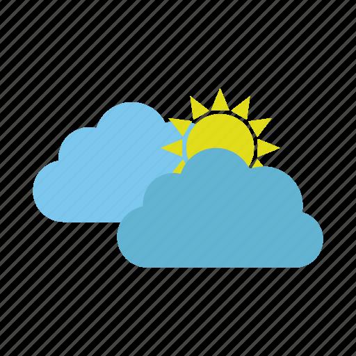 cloud, cold, design, hot, nature, sun icon
