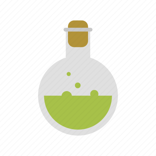 design, experiment, laboratory flask, liquid, science icon