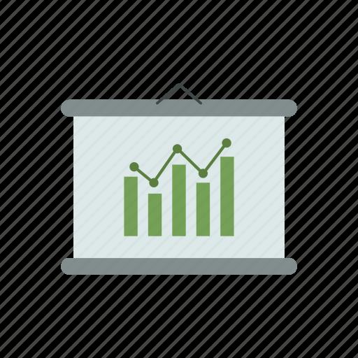 analytics, business, design, finance, office, work icon