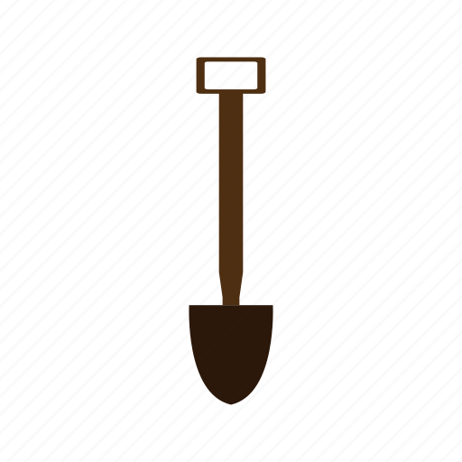 costruction, design, factory, industry, shovel, tool icon