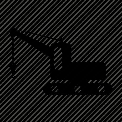 building, construction, crane, estate, tool icon