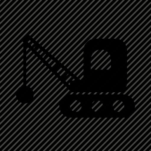 car, demolition, transport, transportation, vehicle icon
