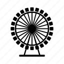 car, ferris, transport, transportation, vehicle, wheel icon