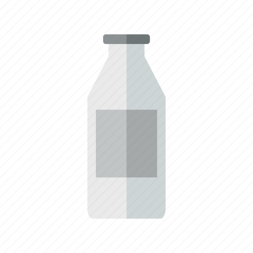 bottle, design, liquid, milk, plastic icon