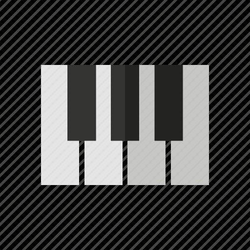 design, music, note, piano, sound icon