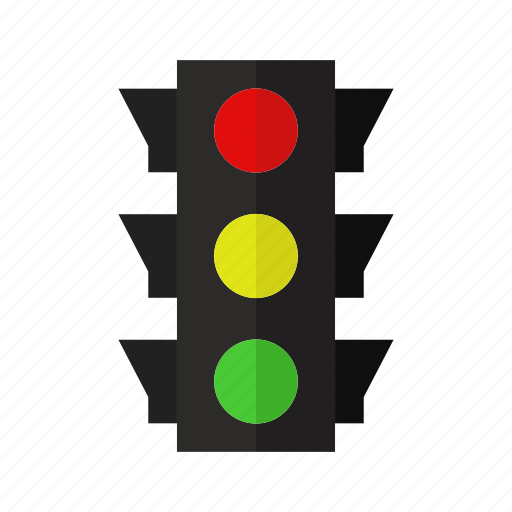 car, color, design, road, street, traffic light icon