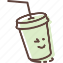 cocktail, cup, drink, fastfood, juice, paper, soda