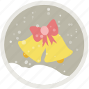 bells, celebration, christmas, decoration, holiday, xmas icon