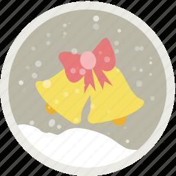 bells, celebration, christmas, decoration, holiday, xmas icon