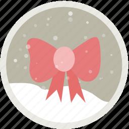 bow, bowknot, christmas, decoration, holiday, present, ribbon icon